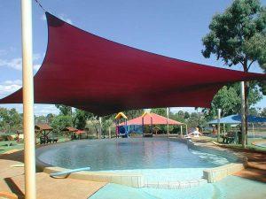 waterpark shadesail