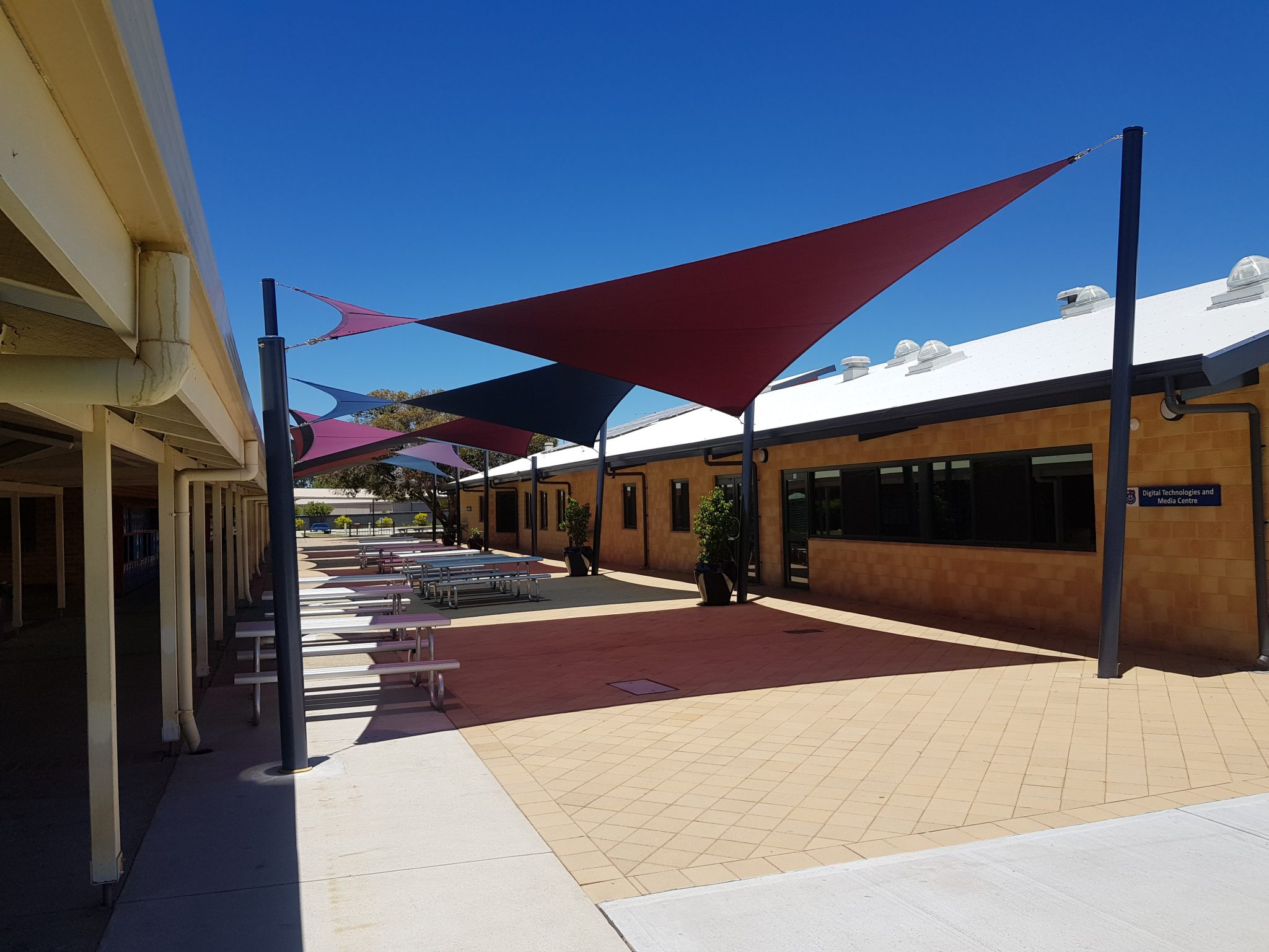Shade Sails for UV Protection