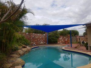 Shade Sail for a swimming pool Perth