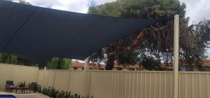 Shade Sails for a swimming pool