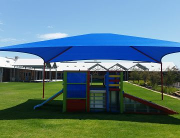 Shade Structure over play equipment