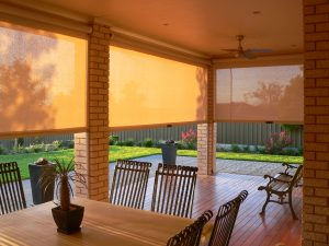 Alfresco outdoor blinds